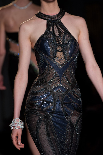 Versace Couture Details, Fall 2013