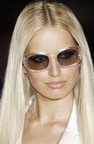 Versace clup at Couture Spring 2004 (Details) [couture spring 2004,eyewear,hair,sunglasses,face,blond,glasses,eyebrow,hairstyle,chin,hair coloring,blond,sunglasses,supermodel,hair,hair,glasses,brown hair,hairstyle,versace clup,sunglasses,blond,bangs,layered hair,glasses,brown hair,hair m,long hair,supermodel,hair]