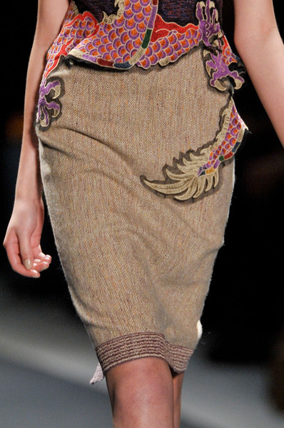 Vivienne Tam at New York Fall 2012 (Details)
