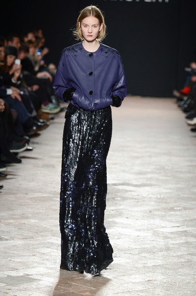 Wang Peiyi at Milan Fall 2013