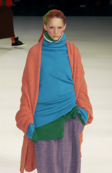Y's at Paris Fall 2003 [fashion,fashion show,clothing,runway,blue,green,fashion design,human,outerwear,wool,ulyana sergeenko,darker horse,fashion,runway,fashion week,model,livingly,y,paris fashion week,fashion show,ulyana sergeenko,runway,paris fashion week,fashion,fashion show,fashion week,model,darker horse,livingly]