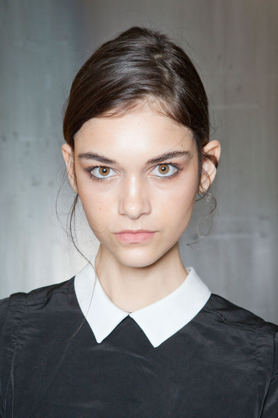 Yigal Azrouël at New York Spring 2013 (Backstage)