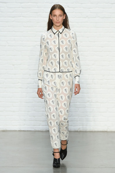 Yigal Azrouël at New York Spring 2015