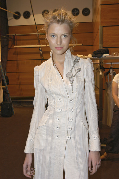 Yoichi Nagasawa at Paris Spring 2007 (Backstage)