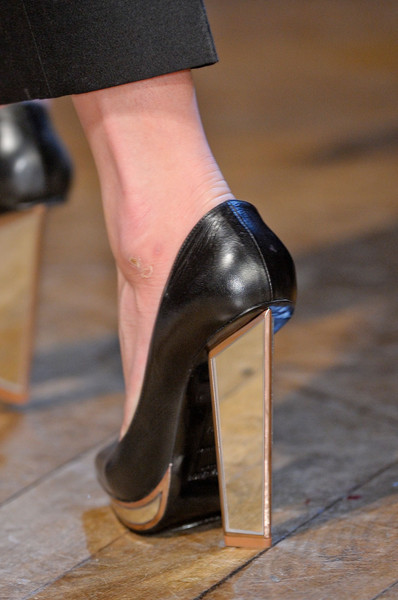 Yves Saint Laurent at Paris Fall 2012 (Details)