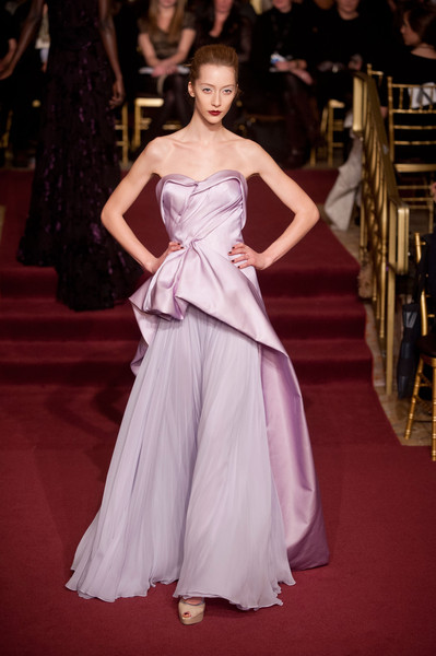 Zac Posen at New York Fall 2013