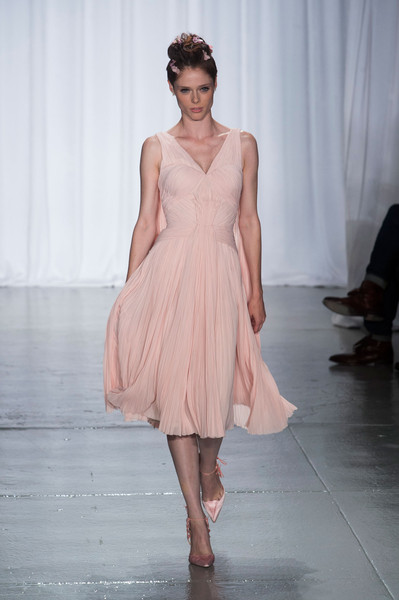Zac Posen at New York Spring 2014