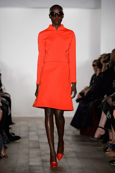 Zac Posen at New York Spring 2015