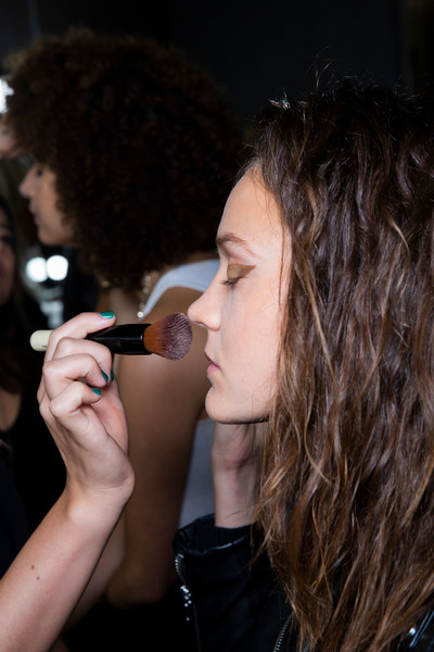 Zero + Maria Cornejo at New York Spring 2019 (Backstage) [hair,singing,beauty,hairstyle,nose,lip,singer,performance,long hair,microphone,singer-songwriter,songwriter,maria cornejo,hair,hair,microphone,brown hair,hairstyle,beauty,new york fashion week,long hair,hair m,microphone,brown hair,black hair,singer-songwriter,hair,brown,songwriter,02pd - circolo del partito democratico di milano]