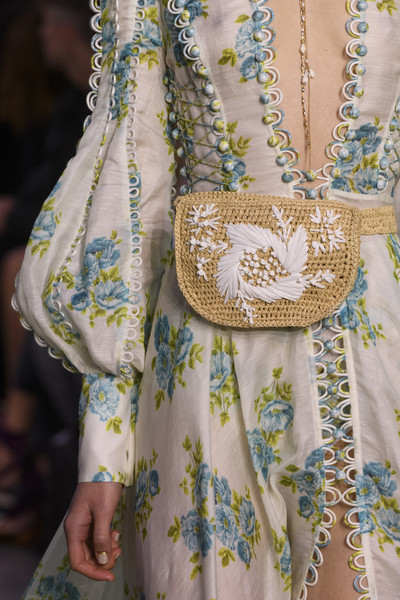 Zimmermann At New York Fashion Week Spring 2018 The Chicest Designer Handbags From New York Fashion Week Spring 2018 Livingly