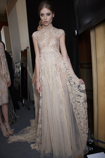 Zuhair Murad at Couture Fall 2013 (Backstage)