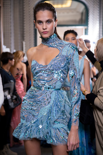 Zuhair Murad at Couture Spring 2019 (Backstage)