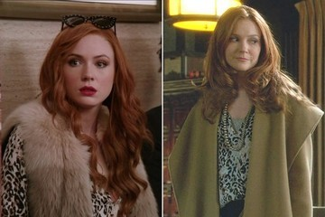 Seeing Double: Karen Gillan and Darby Stanchfield Flaunt the Same Leopard-Print Blouse