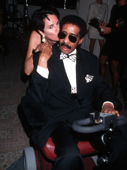 Richard Pryor and Jennifer Lee and Flynn Belaine