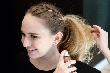 No-Heat Holiday Party 'Do: The Side Braided Ponytail