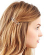 Safety Pin Hair Clip