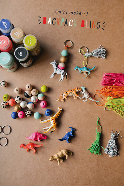 Craft Backpack Charms