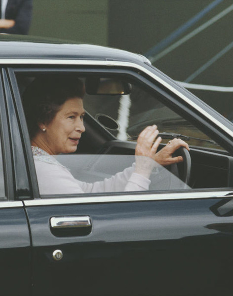 The Queen Is Allowed The Drive Without A License