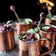 Pomegranate & Candied Mint Moscow Mule