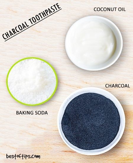 DIY Charcoal Toothpaste
