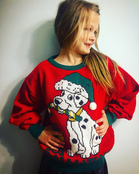 Win the cutest sweater contest