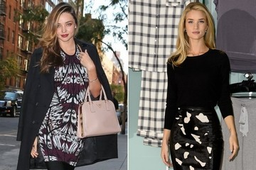 Miranda Kerr vs. Rosie Huntington-Whiteley: Whose Sharp City Style Is Chicest?