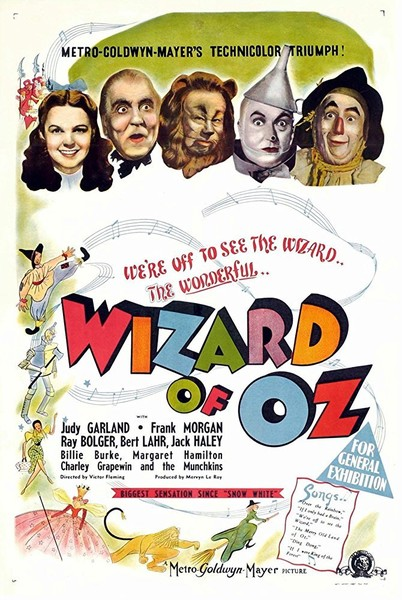 Wizard of Oz (1939, G)