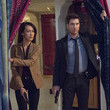 Maggie Q and Dylan McDermott on 'Stalker'