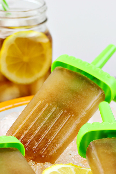 Sweet Tea Vodka Ice Pops