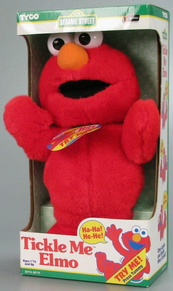 1996: Tickle Me Elmo