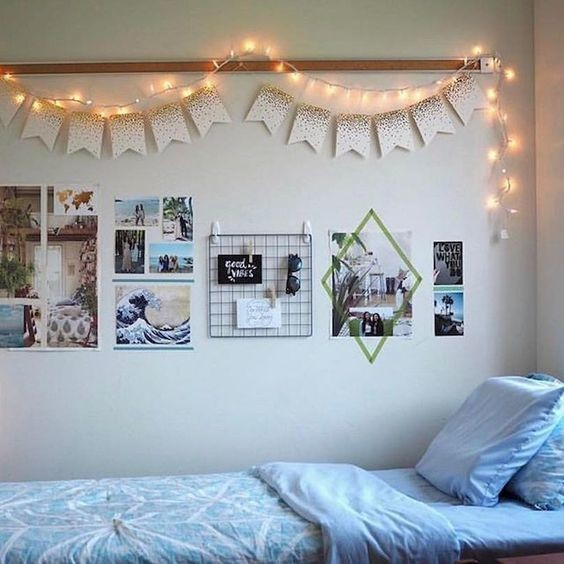 Lined up diy ideas that 39 ll make your dorm room feel like for Cute dorm bathroom ideas