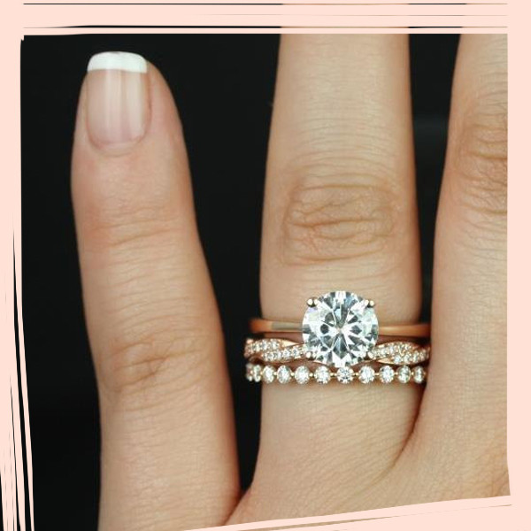 the most popular engagement wedding ring stacks on pinterest - Most Popular Wedding Rings