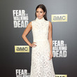 Mercedes Mason at the Premiere of AMC's 'Fear The Walking Dead'