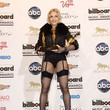 Showing Off Her Awards (And Gams) At The 2013 Billboard Music Awards