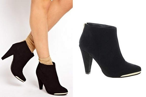 Little Black Boot - 15 Cute Ankle Boots to Take You Into Fall ...