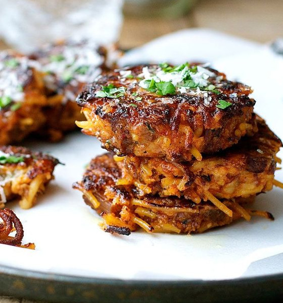 Leftover Pasta: Pasta Fritters
