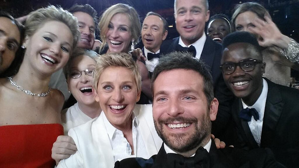 2014: Ellen DeGeneres Takes The Greatest Selfie Ever