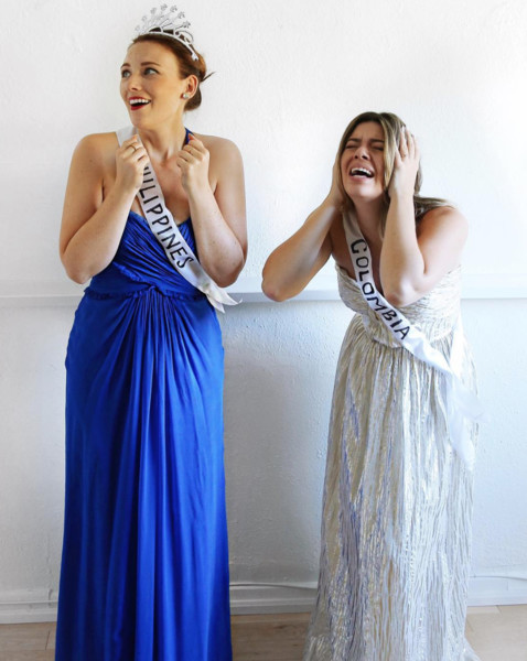 Halloween Costumes You Can Create Using Items You Already Have In Your Closet · Pageant Queen  sc 1 st  Livingly & Pageant Queen - Halloween Costumes You Can Create Using Items You ...
