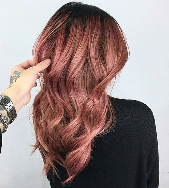 Dusty Mauve Rose Gold Hair Ideas That Ll Have You Dye Ing For This