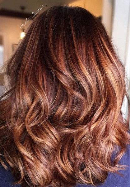 Warm Auburn The Top Hair Color Trend Of 2017 Is Hygge