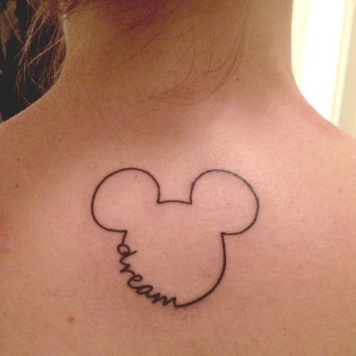 Mickey Outline
