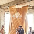 Drapes and a Chandelier
