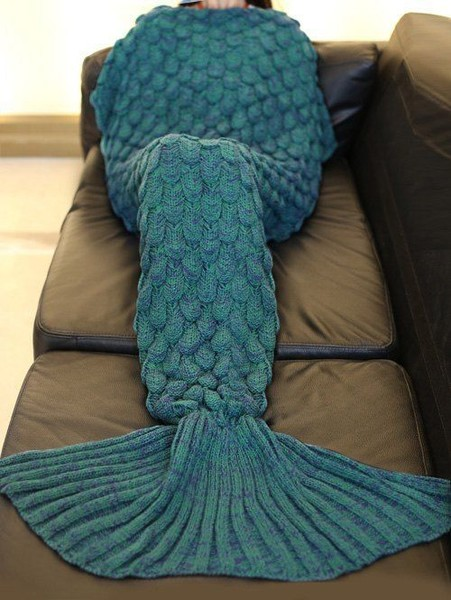 Fishtail Blanket