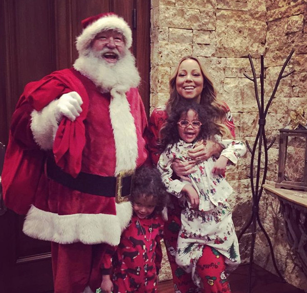 How the Stars Celebrated Christmas 2015