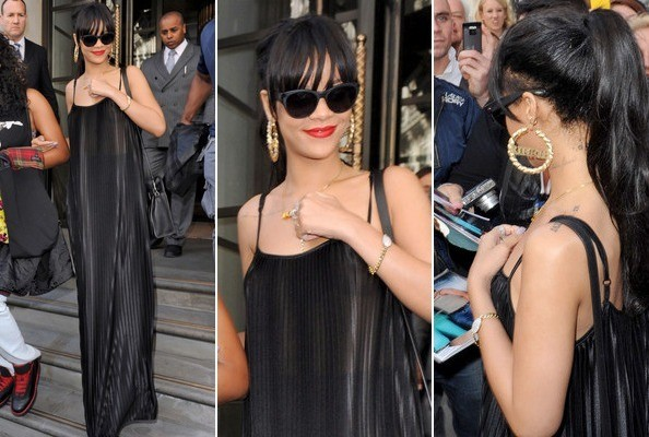 Why it Works: Rihanna in a Maxi Dress. No, Really.