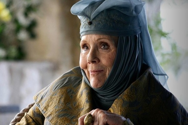 Diane Rigg as Olenna Tyrell