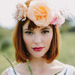 Statement Floral Crown