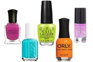 Five Neon Nail Colors You Need to Try Right Now