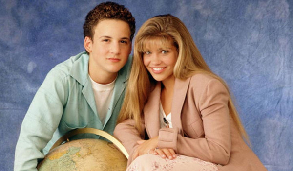 Cory and Topanga from 'Boy Meets World'
