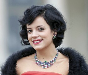 Retro Wedding Hairtsyles - Lily Allen Hair